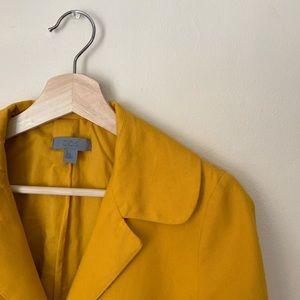 COS Yellow Midi Fall Jacket